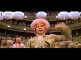 Tom Hulce as Amadeus.